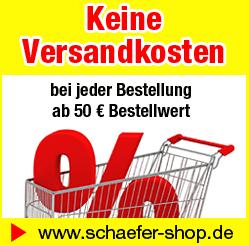 Schäfer Shop Gutscheincode Rabattaktion versandkostenfrei bestellen