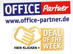 Office Partner Deal der Woche + neues Schnäppchen fürs Büro