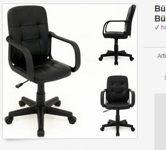 Bürostuhl & Drehstuhl billig bei ebay