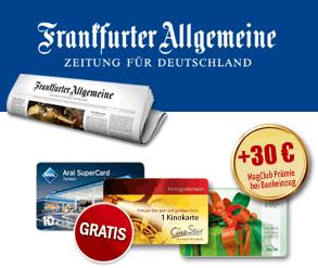 Frankfurter Allgemeine Zeitung kostenlos