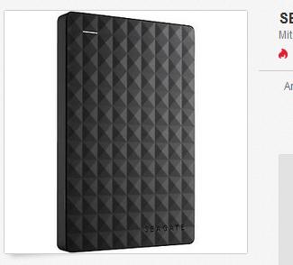 externe Festplatte von SEAGATE billig, reduziert, versandkostenfrei