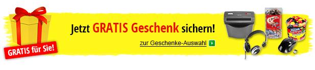 Gratisgeschenke & Gratisartikel bei bueroshop.de