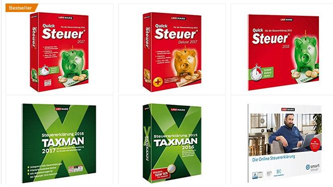 Steuer-Software von Lexware billig bei Amazon bestellen