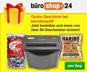 büroshop24 Bestellprämie