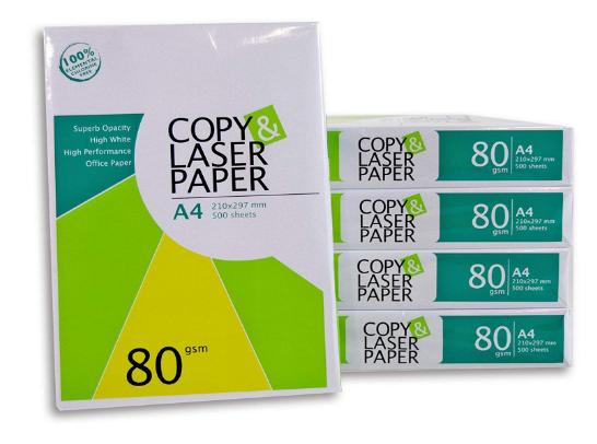 2500 Blatt Hochwertiges Premium Druck- und Kopierpapier von Copy & Laserpaper